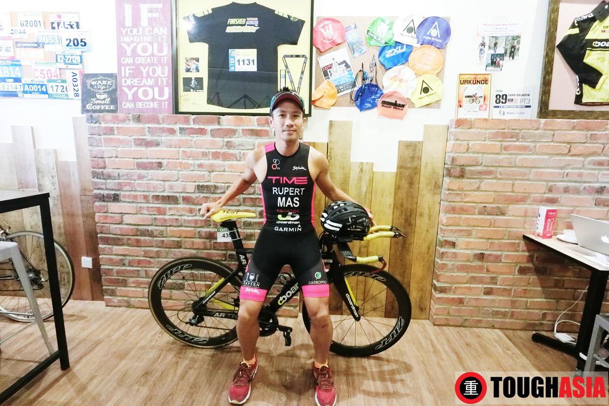 Rupert Chen Ironman triathlon