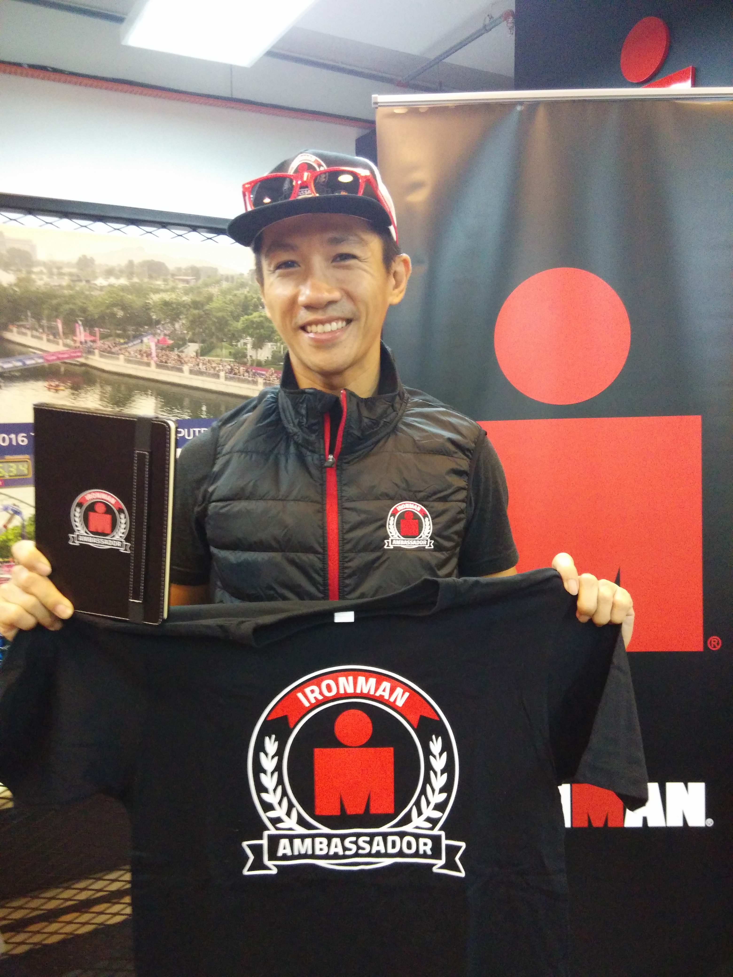 Rupert Chen has been appointed as the Ironman Asia Ambassador representing Malaysia.