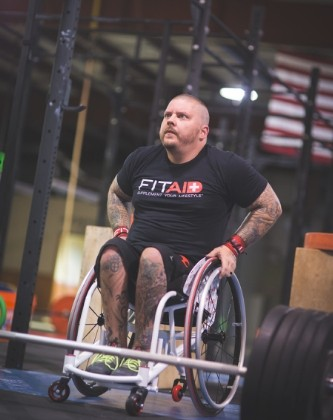 FitAID custom wheelchair