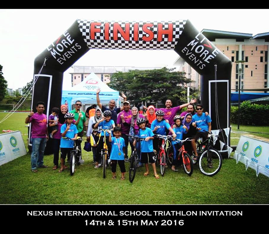 ... Nexus International School Triathlon on the 14th & 15th May 2016. This  year Live More Events will bring you a series of multi-sports events that  will ...