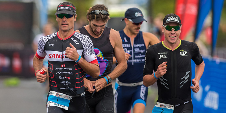 Craig Alexander created a new course record at the  Ironman 70.3 Busselton. (Ironman.com)