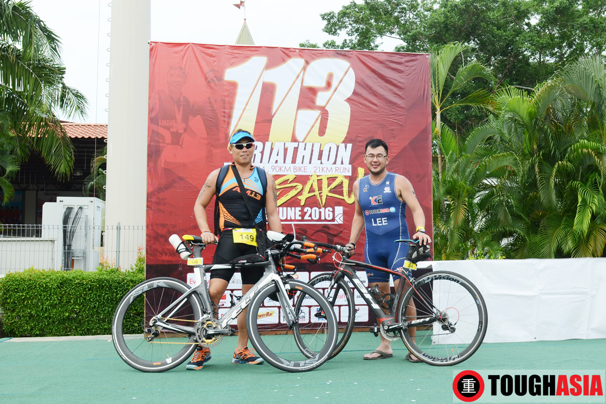 Richard Lee 113 Desaru Triathlon