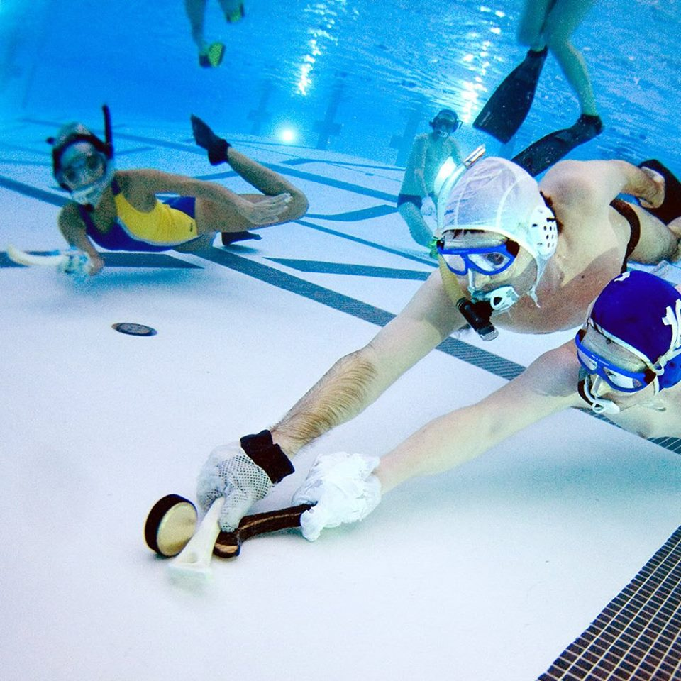 Learn Underwater Hockey known as Octopush