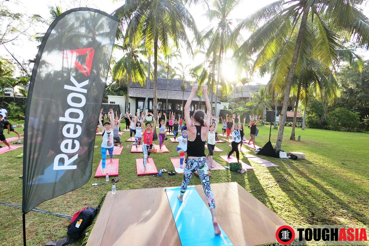 Reebok Tara Stiles Yoga Tanjong Jara Resort YTL