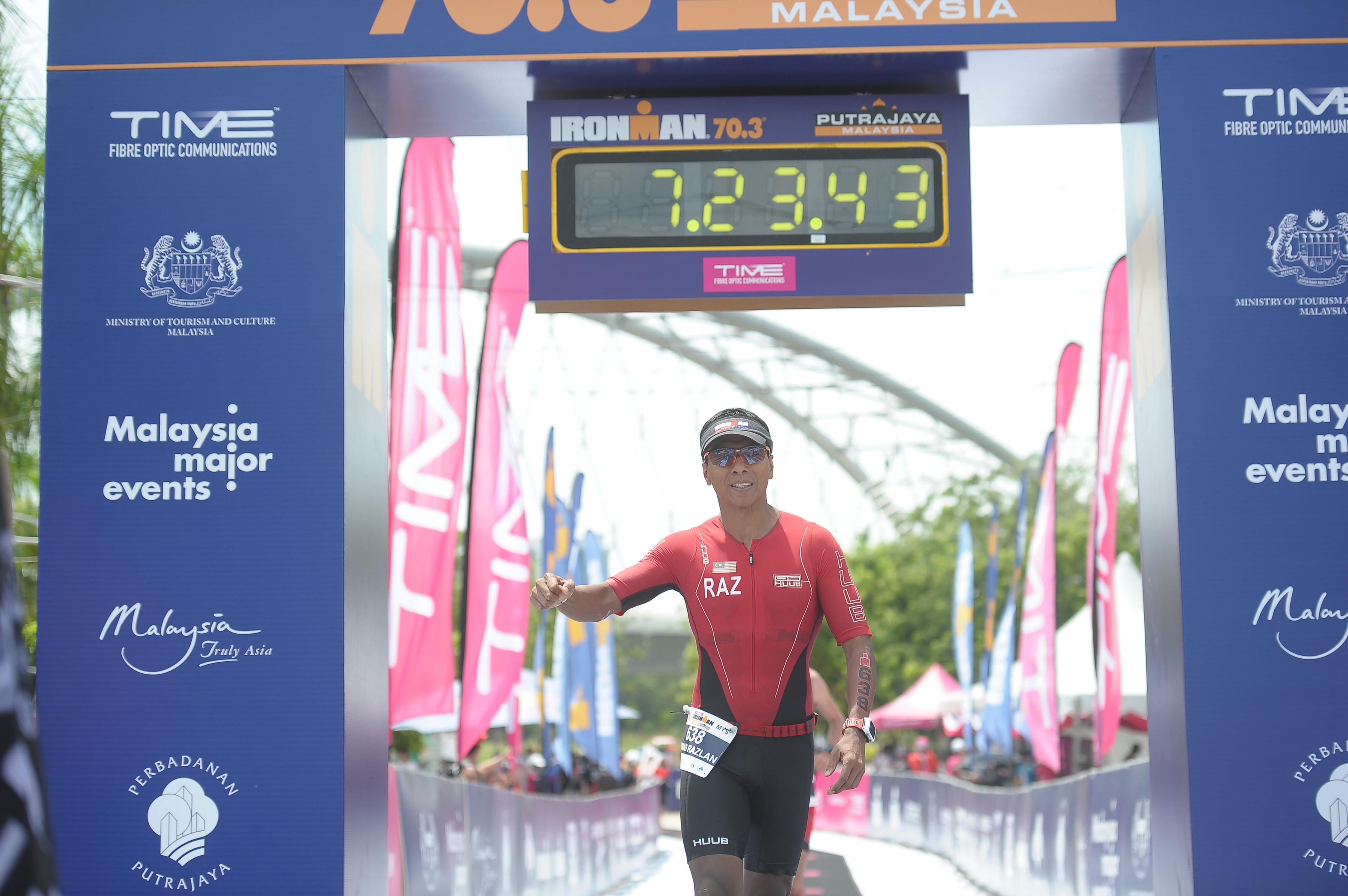Dato Razlan Razali, CEO of Sepang International Circuit seeks a new challenge at the Ironman Malaysia this November. (FinisherPix)