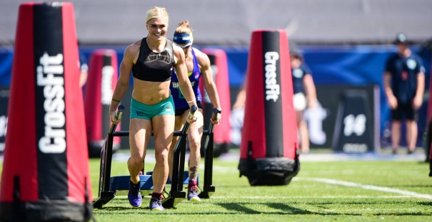 Katrin Davidsdottir retains the title of Fittest Female on Earth. (CrossFit Games)