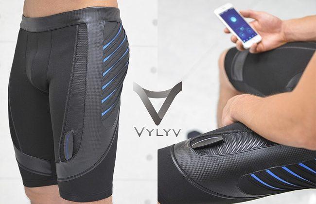 VylyV, the smart shorts that help men to do kegel exercise.