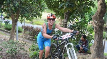 Annemieke Oomen became an accidental triathlete overnight to take part in  Xterra Albay and Xterra Malaysia.