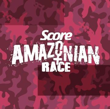 score amazonian race logo