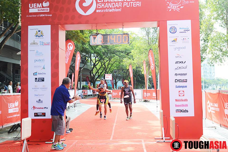 Challenge Iskandar Puteri triathlon