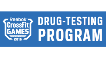 CrossFit Games Drug Testing Program