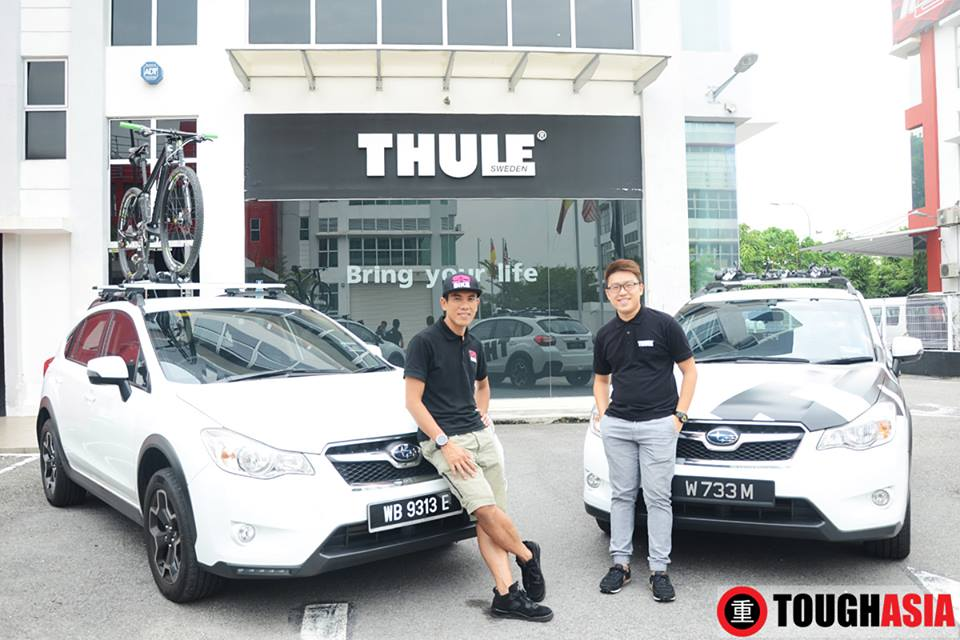 Exciting opportunities await Thule's sponsorship and collaboration with Shahrom Abdullah.