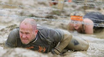 Chris James has conquered 50 Tough Mudder competitions. (Khaleejtimes)