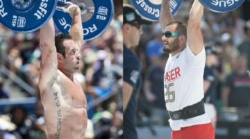 Rich Froning (left) will fill in for Mat Fraser (right) at the CrossFit Invitational. (CrossFit)