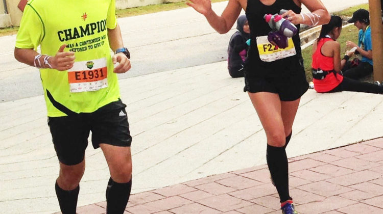 Kimbeley Yap gives us 10 tips to running in cool weather.  (Noel Chelliah)