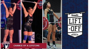 The USA Weightlifting  team is offering spots in their training camp to winners of the CrossFit LiftOff 2016. (Instagram)
