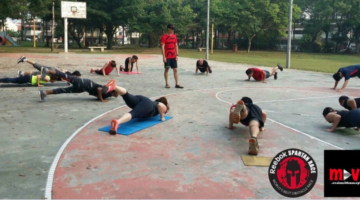 Move play bootcamp for Spartan Race Malaysia