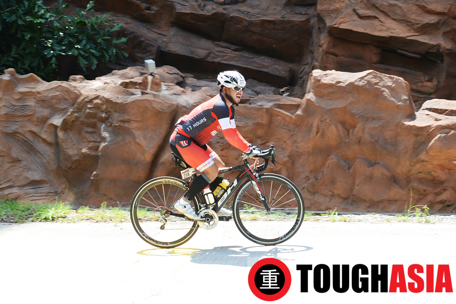 The toughest part of the 180km bike leg was steep hills at Datai and Kuah town in Langkawi.
